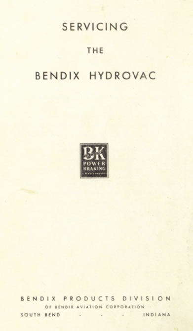 Servicing the Bendix Hydrovac